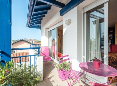 biarritz appartement terrasse parking